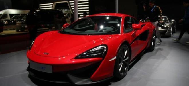 На Шанхай-автошоу 2015 McLaren представил бюджетную модель 540C
