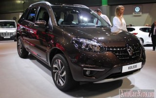 В России начался прием заказов на Renault Koleos 2015