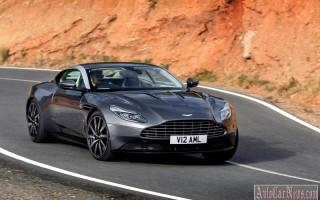 Официальная российская премьера суперкара Aston Martin DB11