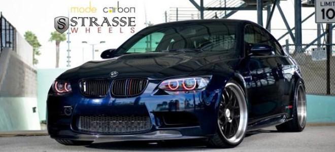 Доработанный BMW M3 E92 от Strasse Wheels
