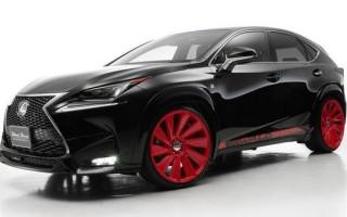 2015 Lexus NX получил новый облик от тюнинг ателье Wald International