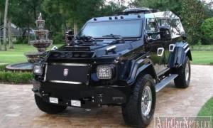 Эксклюзивный броневик из Гостомеля стоимостью 629000 долларов