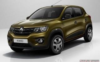 Компактный кроссовер Kwid от компании Renault получает мощный движок