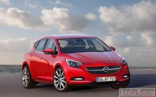 Несколько подробностей о новой модели Opel Astra (K) 2015-2016