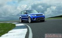 Новый Range Rover Sport SVR 2015 получил 550-сильный движок