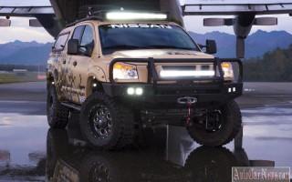 Эксклюзивная модель внедорожника Nissan Project Titan 2015