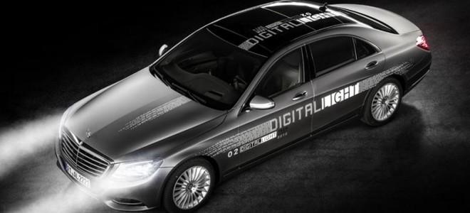 Компания Mercedes представила «умную» оптику Digital Light
