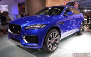 Франкфурт 2015 – F-Pace первый кроссовер компании Jaguar
