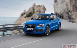 Новая спортивная версия кроссовера Audi AQ5 TDI Plus 2016 – 2017