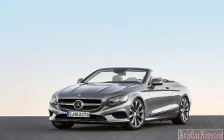 Официально представлен Mercedes-Benz S-Class Cabriolet