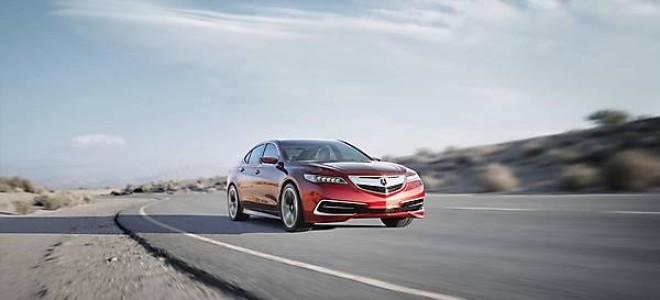 Новый седан Acura TLX Concept 2014