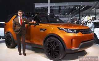 Пекин & Нью-Йорк 2014 – new Land Rover Discovery 2015