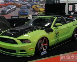 Прокаченный Ford Mustang Convertible GT от ателье TruFiber