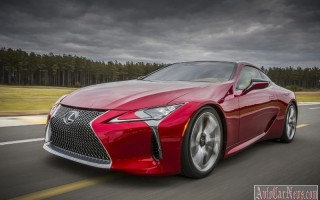 Флагман Lexus LC 500 вскоре появится на рынке России