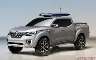 В модельной линейке компании Renault появится пикап Alaskan