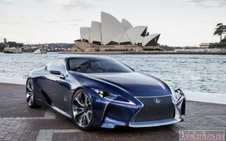 Серийная модель Lexus LF-LC – новые подробности, новый двигатель