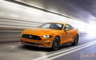Форд Мустанг 2018 получил обновления и 10-диапазонный автомат