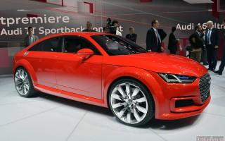 Париж 2014: Audi представила пятидверный концепт TT Sportback