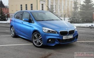 Названы дата начала продаж и цена BMW 2-Series Active Tourer