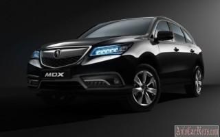 На рынок вышла обновленная модель 2016 Acura MDX III-поколения