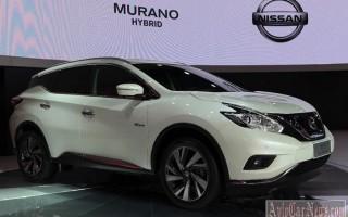 Популярная модель кроссовера Murano от Nissan стала гибридом