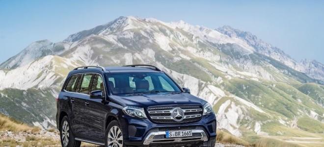 Большой внедорожник Mercedes-Benz GL получил букву S