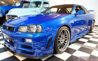 Легендарный Nissan Skyline из киноэпопеи «Форсаж» будет продан за 5 млн. euro