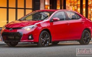 Toyota покажет на мотор-шоу в Чикаго спецверсии моделей Corolla и Camry