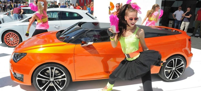 Seat представил new Ibiza Cupster Concept 2014