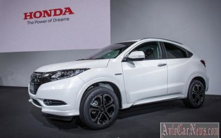 Нью-Йорк 2014 – new crossover Honda Vezel 2015