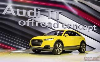 Пекин 2014 – new crossover Audi TT Offroad 2015