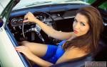 Женщина за рулем иногда опаснее, чем мужчина