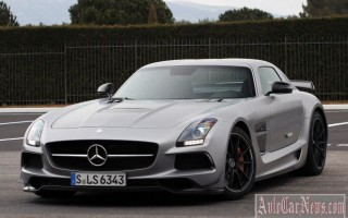 Объявлена цена 2014 Mercedes-Benz SLS AMG GT Black Series