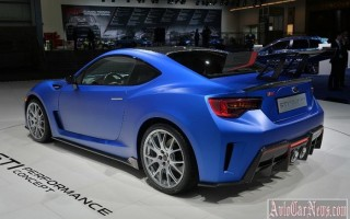Нью-Йорк 2015 – прототип Subaru BRZ STI Performance