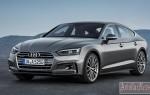 Немцами презентована новая модель Audi A5 Sportback 2017