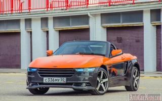 На дорогах Крыма тестируется одноименная модель родстера