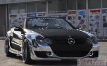 Заряженный Mercedes-Benz SL55 AMG от ZR Auto
