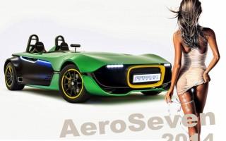 Оригинальный концепт Caterham AeroSeven 2014