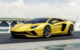 Обновленный Lamborghini Aventador S на полноуправляемом шасси