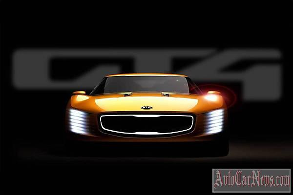New 2014 Kia GT4 Stinger Concept foto
