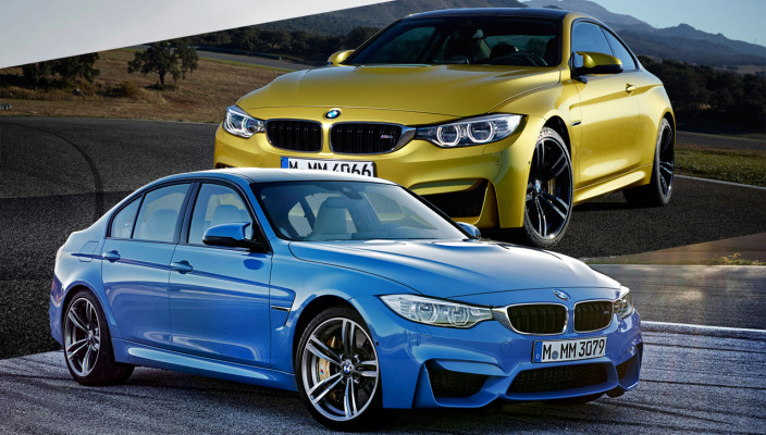 New 2014 BMW M3 and M4