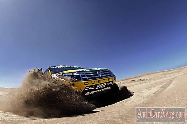 2014 Renault Duster Dakar Rally