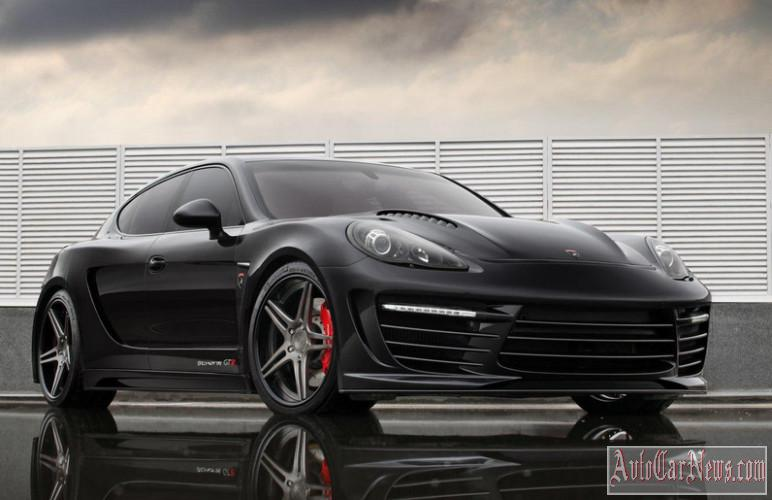 2014 Porsche Panamera Stingray GTR Black Top Car