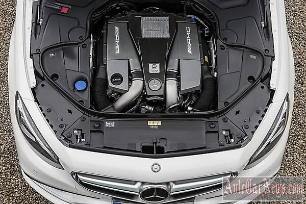2015 Mercedes-Benz S63 AMG Coupe  photo