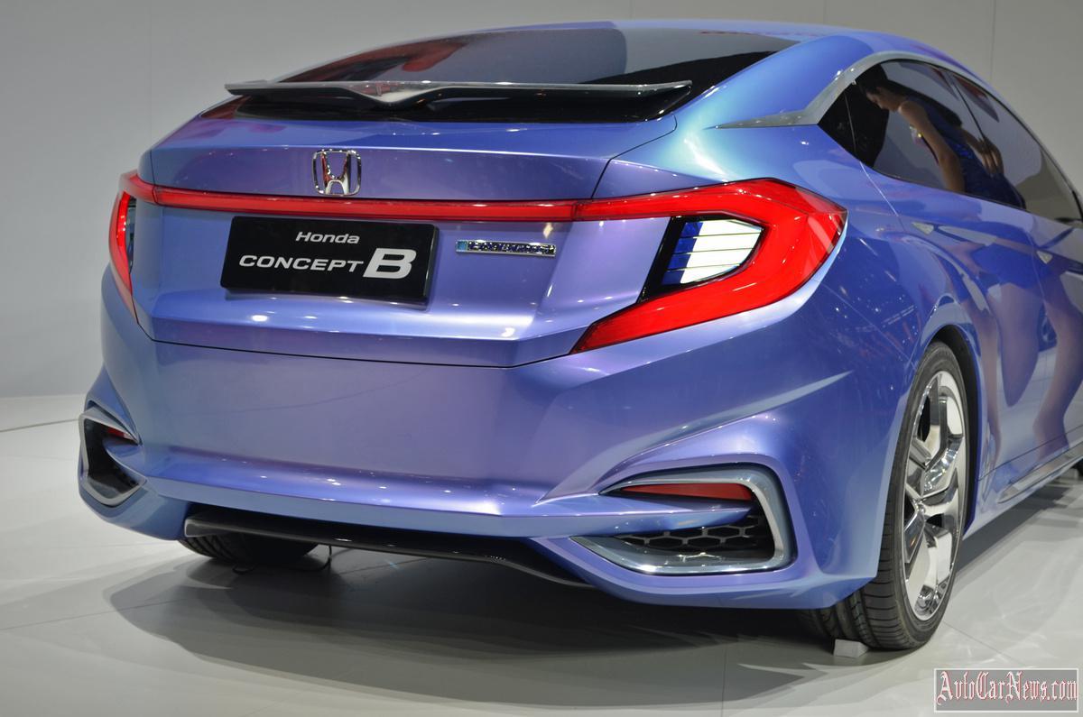 2015 Honda Concept B Hybrid photo