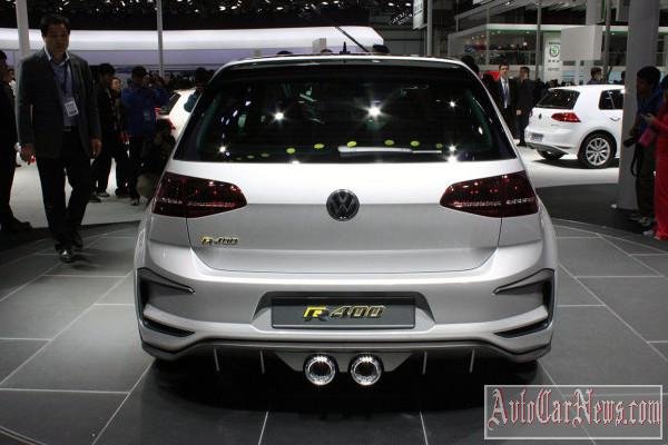 2015 Volkswagen Golf R400 photo