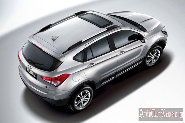 Crossover Haima S5 2015 photo