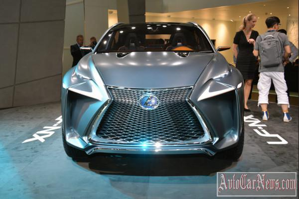 Lexus LF-NX Concept Frankfurt 2013 photo