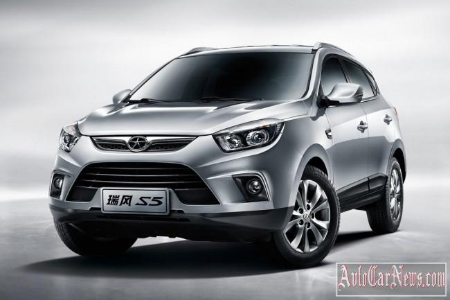 New crossover JAC S5 2015 photo