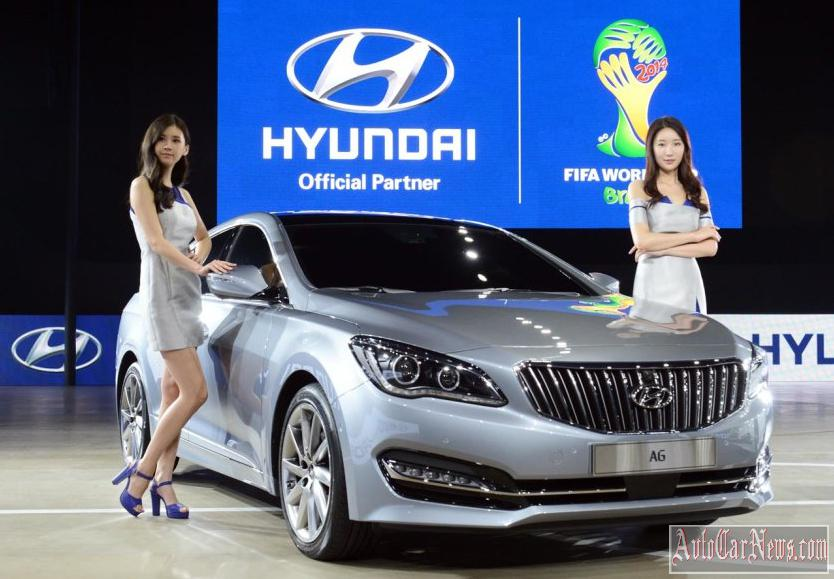 2014 Hyundai Grandeur Photo